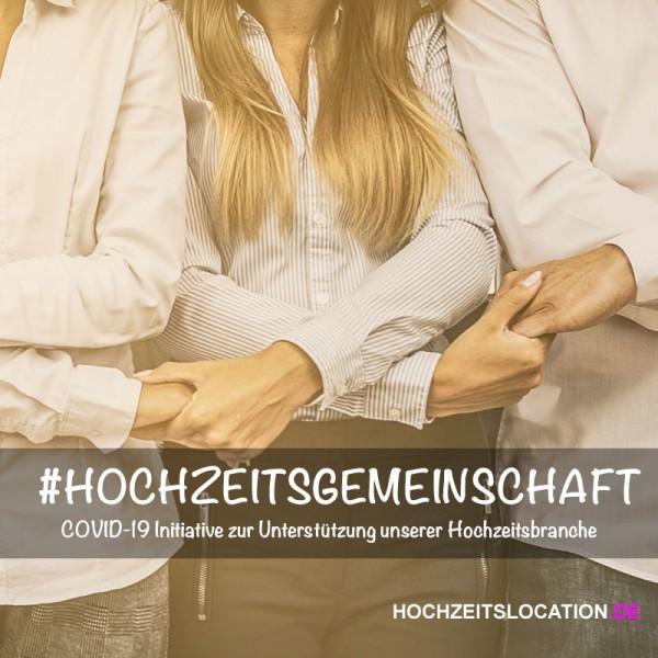 Initiative #Hochzeitsgemeinschaft - Wir unterstützen Sie!